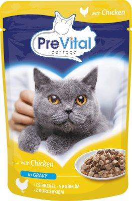 PreVital pełnoporcjowa karma dla dorosłych kotów z kurczakiem