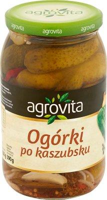 Agrovita ogórki konserwowe po kaszubsku