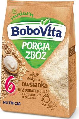 BoboVita porcja zbóż kaszka owsianka pełnoziarnista