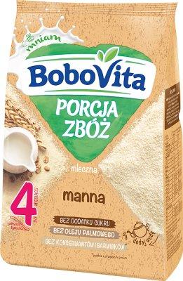 BoboVita Porcja Zbóż kaszka mleczna manna