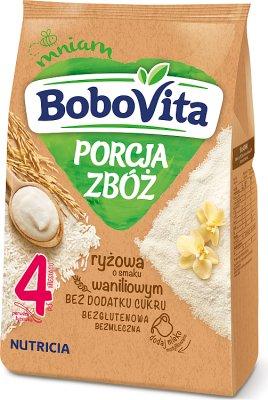 BoboVita porcja zbóż kaszka waniliowa ryżowa