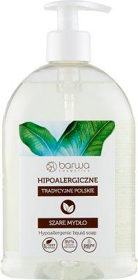 Barwa hipoalergiczne szare mydło bezzapachowe