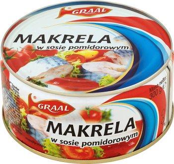 Grail Mackerel in tomato sauce