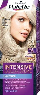 Schwarzkopf Palette krem koloryzujący ultrapopielaty blond A10