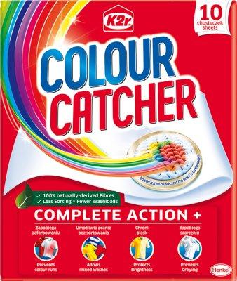 K2r Colour Catcher Chusteczki zapobiegające zafarbowaniu ubrań
