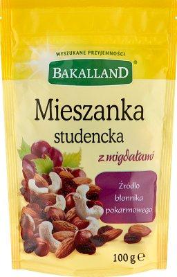 Bakalland Mieszanka studencka z migdałami