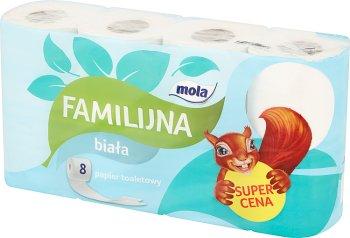 Mola Familijna papier toaletowy biały