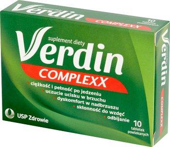 Verdin copmlexx complementar un amplio soporte para el sistema digestivo
