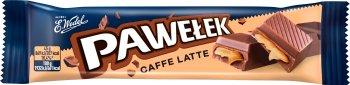 Wedel Pawełek baton mleczny caffe latte