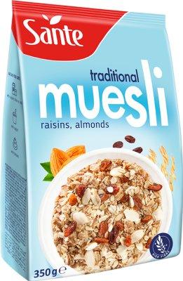 Sante Musli tradycyjne z owocami