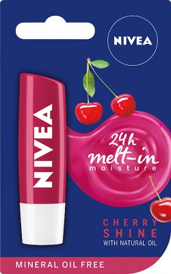 Nivea Fruity Shine Pomadka do ust Cherry