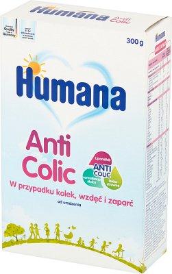 HUMANA ANTICOLIC Mleko modyfikowane w proszku przy wzdęciach zaparciach i kolkach