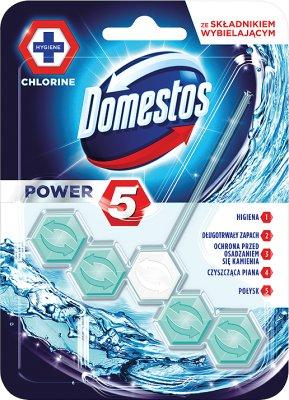 Domestos WC Power 5 zawieszka z kostką Chlorine