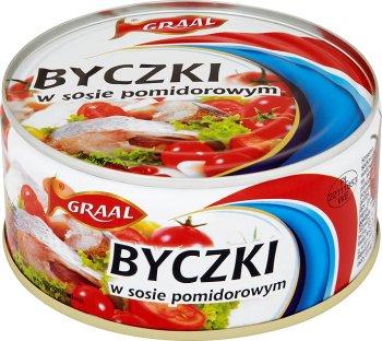 Graal Byczki w sosie pomidorowym