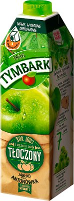 Тымбарк сок выжимается из яблок в этом Antonówka с витамином С