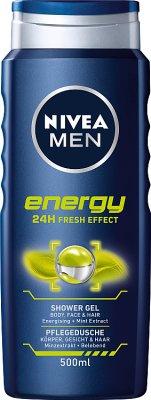 Nivea Men Energy Żel pod prysznic