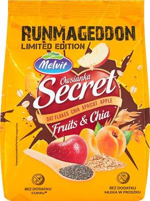 Melvit Secret fitness owsianka z owocami i z chia