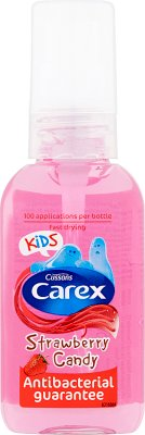 gel Carex enfants Strawberry Candy mains antibactérien
