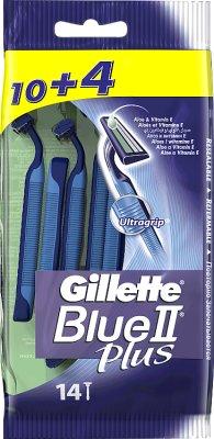 Gillette Blue II Plus Jednorazowe maszynki do golenia