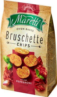 Bruschette Maretti chrupki chlebowe salami pepperoni