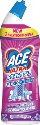 Ace Ultra Power Gel Wybielacz ze środkiem odtłuszczającym