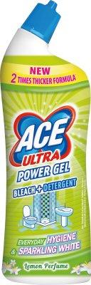 Ace Ultra Power Gel Lemon Wybielacz ze środkiem odtłuszczającym