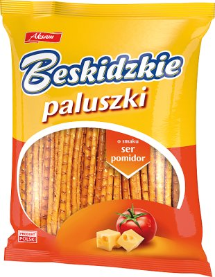 Barritas aksam BESKIDZKIE con sabor a tomate y queso