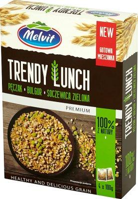 Melvit Trends Lunch mix of pearl barley, bulgur, lentils 4x100 g