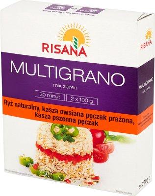 Risan MultiGram of porridge oat groats roasted 2x100 g