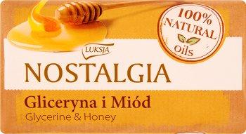 Luksja Nostalgia Mydło w kostce gliceryna i miód