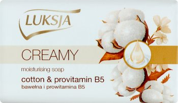 Luksja creamy beauty soap cotton and provitamin B5