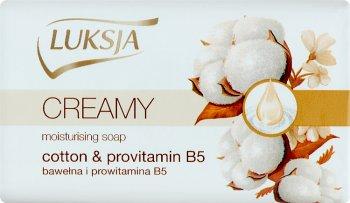 Luksja creamy mydło w kostce bawełna i prowitamina B5