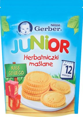 Gerber Junior Herbatniczki maślane