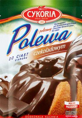 Cykoria Polewa do ciast o smaku czekoladowym