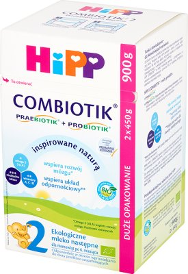 Hipp 2 Combiotik BIO La leche orgánica próximo bebé