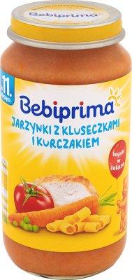 Bebiprima Jarzynki avec des nouilles et poulet