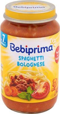 Bebiprima Spaghetti bolognese