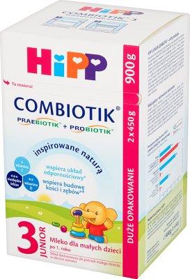 HiPP 3 JUNIOR COMBIOTIK mleko modyfikowane