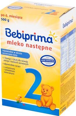 Bebiprima 2 Mleko następne
