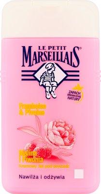 Le Petit Marseillais Kremowy żel pod prysznic malina i piwonia