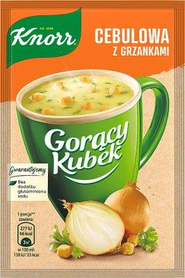 Knorr Горячая кружка Луковый суп с гренками