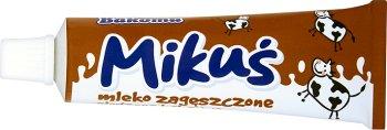 Bakoma Mikuś mleko zagęszczone 8% słodzone kakaowe