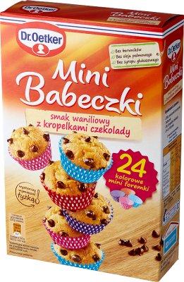Dr.Oetker Mini Babeczki smak waniliowy z kropelkami czekolady
