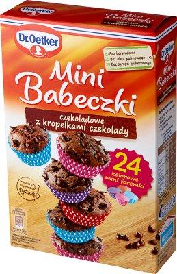 Dr.Oetker Mini Babeczki czekoladowe z kropelkami czekolady