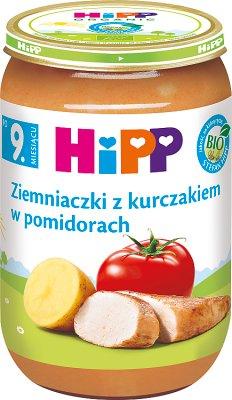 Ziemniaczki z kurczakiem w pomidorach BIO