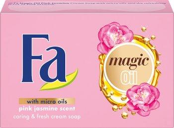 Jabón de aceite Fa mágica del cubo Rosa Jazmín Perfume