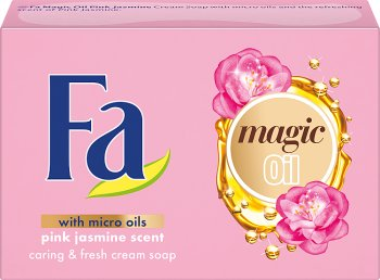 Fa Magic Oil Mydło w kostce Pink Jasmine Scent
