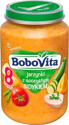 BoboVita obiadek jarzynki z soczystym indykiem