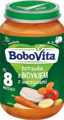 BoboVita obiadek indyk w ziołach z warzywami
