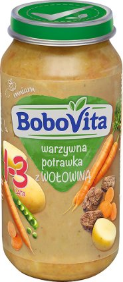 BoboVita junior Menestra de verduras con carne de vaca